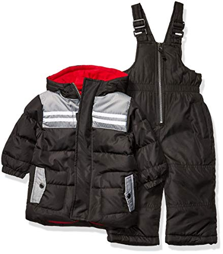 iXtreme Baby Boys Snowsuit, Black, 12M