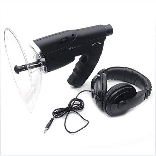 mächtig Monokulares Parabolmikrofon, Tonverstärker, Spionageohr, bionisches Hörgerät, Fernhörgerät…