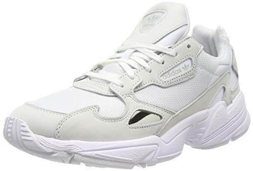 adidas Falcon, Zapatillas de Running Mujer, Cloud White/Cloud White/Crystal White, 37 1/3 EU