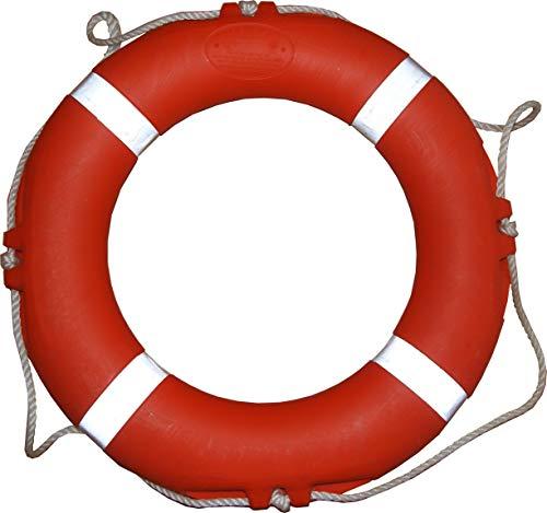 AQUA SPORT Rettungsring CE MED Solas | 71cm 2,5kg | Boote, Schwimmbäder