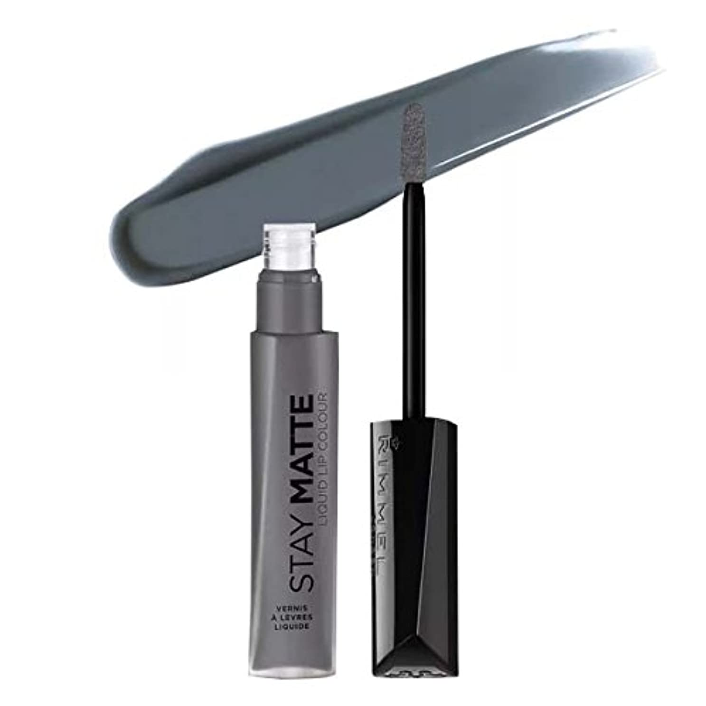 展開する獲物リブ(3 Pack) RIMMEL LONDON Stay Matte Liquid Lip Color - Shadow (並行輸入品)