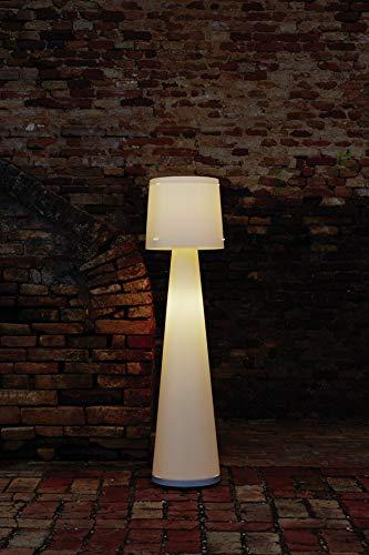 EMPORIUM Lampada da Terra Diva Bianco