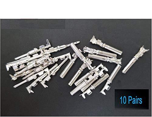 10 Pairs Deutsch DT Series pin Connector Male & Female 20 pcs Terminals...