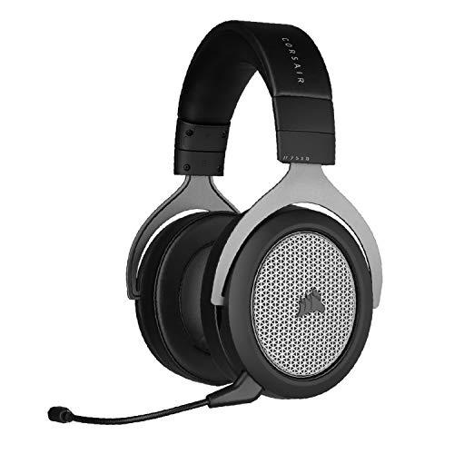 Corsair HS75 XB Wireless Auriculares para Juegos para Xbox One y Xbox Series X (Conéctese Instante sin Adaptador Inalámbrico, Audio Dolby Atmos Envolvente, Micrófono Unidireccional) Negro