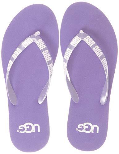 UGG Damenschuhe - Zehentrenner SIMI Graphic Purple Zen, Größe:37 EU