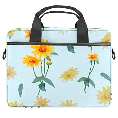 13.4'-14.5' Laptop Case Notebook Cover Business Daily Use or Travel Yellow Bud