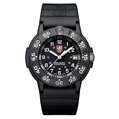 Luminox Wrist Watch Navy Seal Original 3001 - Back - 43mm Mens Watch