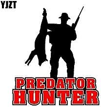 Car Stickers - 13.6CM*15.2CM Predator Hunter Wolf Fox Coyote Hunting PVC Motorcycle Car Sticker 11-00354 ()