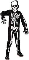 EUROCARNAVALES Disfraz de Esqueleto para niño