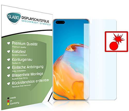 Slabo 2 x Protetor de tela de alta proteção para Huawei P40 PRO Anti-break à prova de choque