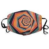 Staubdichte Maske Selbstgemachte abstrakte Muster Anti-Staub-Masken Niedliche Unisex-Mundmaske...