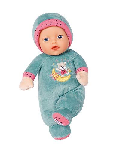 Zapf Creation 827888 BABY born Cutie for Babies Stoffpuppe mit Rassel ab Geburt, 26 cm