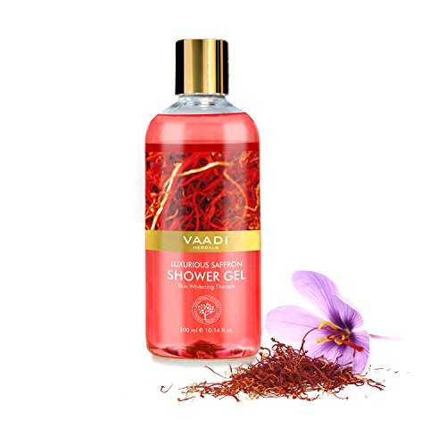 Vaadi Herbals Shower Gel, Luxurious Saffron, 300 ml