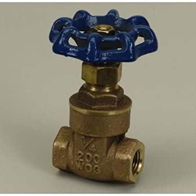 "PROFLO PFT300L 2-1/2"" Non Rising Stem Gate Valve - Not for Potable Water Use from PROFLO"