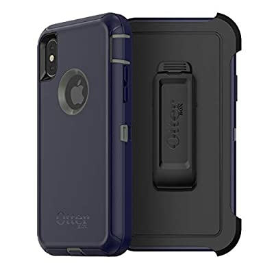 OtterBox Defender Series Case for iPhone Xs & iPhone X - Non-Retail Packaging - Stormy Peaks from OtterBox