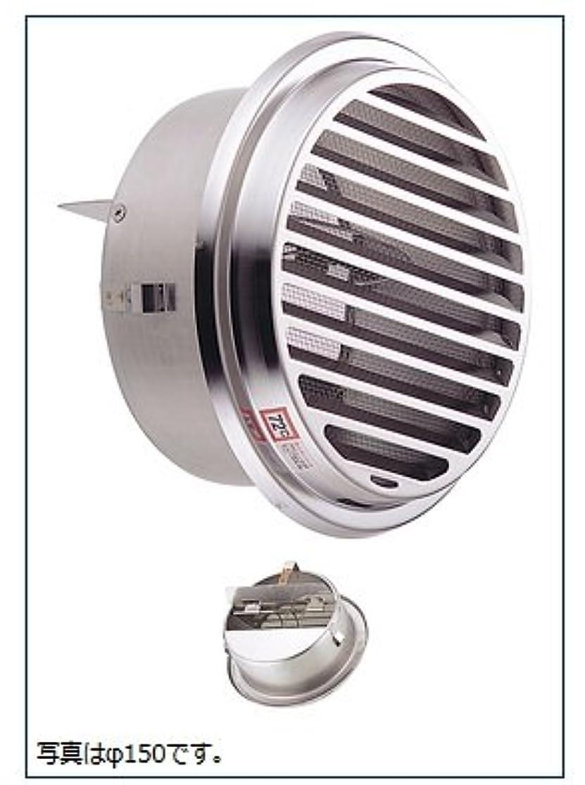 ジャングル視力適応的宇佐美工業 UK-SSN125SHD-MG/メタリックグレー 丸型ガラリ(溶接組立式)