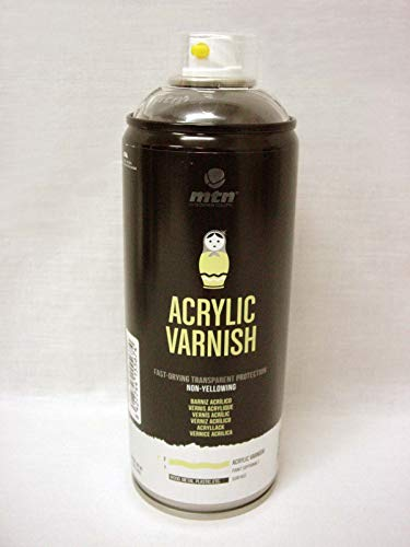 Spray industrial BARNIZ ACRILICO BRILLANTE 400 ML