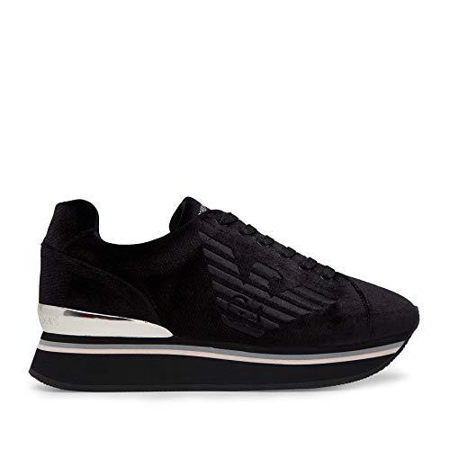 Emporio Armani - Zapatillas deportivas Negro Size: 36 EU