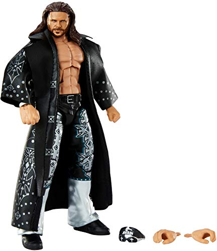 WWE John Morrison Elite Collection Series 82 Action Figure 6 in Posable Collectible Gift Fans Ages 8 Years Old and Up