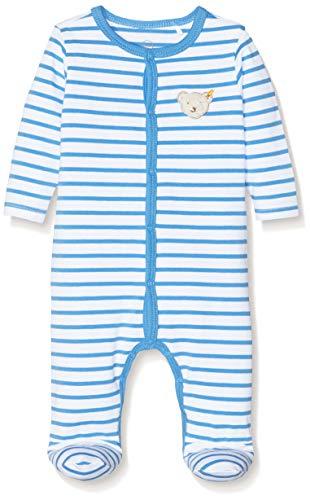 Steiff Baby-Jungen Strampler, Blau (Marina 6026), 50