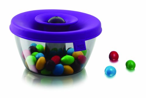 Tomorrow's Kitchen PopSome Nut and Candy Dispenser, Purple