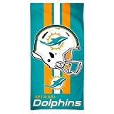 McArthur Miami Dolphins Fiber Beach Towel Helmet 30' x 60'