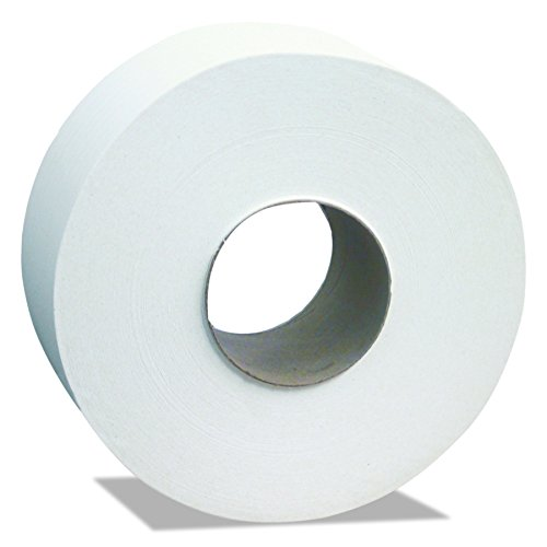 Cascades B240 North River Jumbo Roll Tissue, 2-Ply, White, 3 1/2 x 1000' (Case of 12 Rolls)