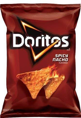 Doritos Tortilla Chips, Spicy Nacho, 260 Grams/9.2 Ounce