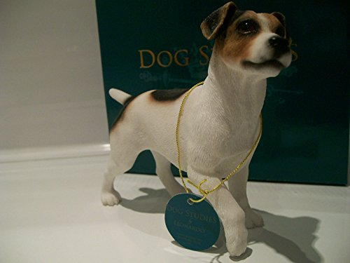 Leonardo Collection Jack Russel Terrier Ornament Dog Figure Figurine Gift Boxed