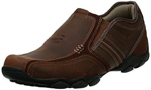 Skechers Diameter Zinroy, Men's Loafers, Brown (Brown), 9 UK (43 EU)