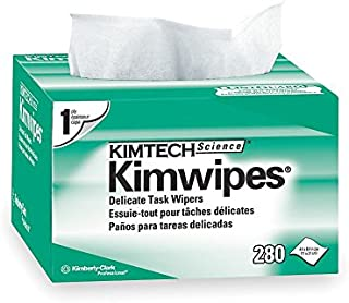 Kimberly-Clark 34155 Kimwipes 1-Ply Delicate Task Wipes, 4.4
