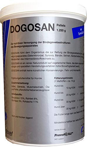 aristavet dogosan Pellets 1,25 kg avec synec type MHD 9/2018