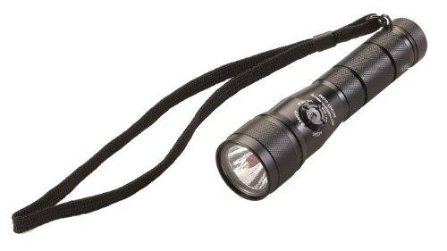 Streamlight 51056 Nuit com tactique lampe de poche LED avec piles au lithium sous blister, Noir