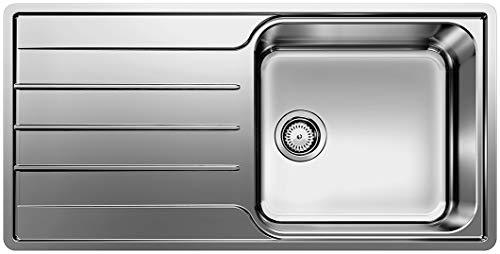 Blanco Lemis XL 6 S-IF Edelstahl Bürstfinish ohne Ablauffernbedienung (Farbe: Edelstahl Bürstfinish)