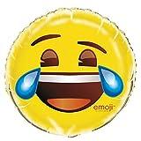 18' Foil Crying Laughing Emoji Balloon