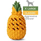 M.C.works Pineapple Dog Chew Toys for Aggressive Chewer, Tough Dog...