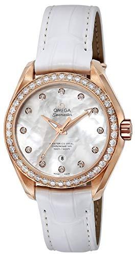 [オメガ] 腕時計 ホワイトパール文字盤 231.58.34.20.55.003 レディース 並行輸入品 ホワイト