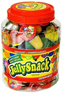 Jelly Snack Candy 100 Count Jar