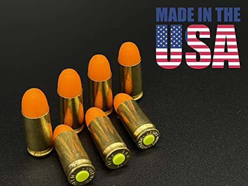 TechStudio3D Premium Brass 9mm Dummy Rounds, Snap Caps - Firearms Dry Fire Ammo for Training - Made in USA (20 Pack)