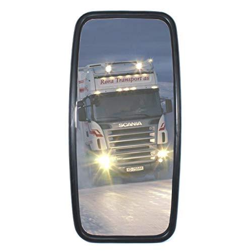 Lot de 2 rétroviseurs universels pour camion, bus - 360 mm x 180 mm