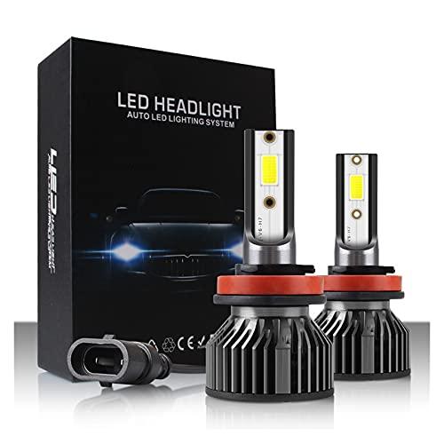 Luces de reemplazo LED H1 H3 H4 H7 H11 9005 9006 H27 Auto Motocycle LED Mini Coche Bombillas HI-Lo Beam Moto 6000K 3000K 8000K 4300K Kit de iluminación automotriz