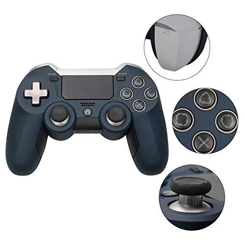 VAWA Controlador de Juegos inalámbrico-Controlador Gamepad para Playstation 4 / PS4 Slim/PS 4 Pro/PC, Bluetooth 4.0 Cargador rápido Doble con Pantalla LED