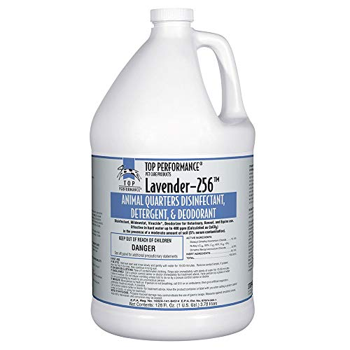 MPP High Concentrate Dog Kennel Disinfectant Deodorant Sanatizing Cleaning Gallon (Lavender)