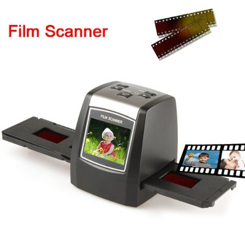 35mm High Resolution Film Scanner with 2.3 Inch LCD Screen and SD Card Slot