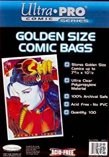 Ultra Pro Golden Age Book Bags 2 Pack of 100 …
