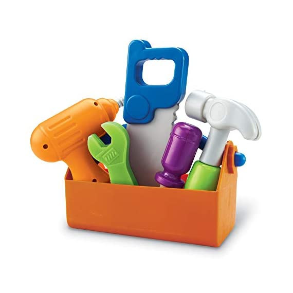 Learning-Resources-New-Sprouts-Fix-It-Fine-Motor-Tools-for-Toddlers-Pretend-Play-Toy-Tool-Set-Outdoor-Toys-6-Piece-Ages-2