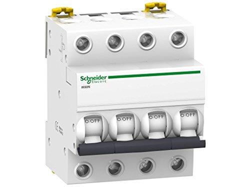 Schneider Electric A9K24740 Interruptor Automático Magnetotérmico, Ik60N, 3P+N, 40A, Curva C