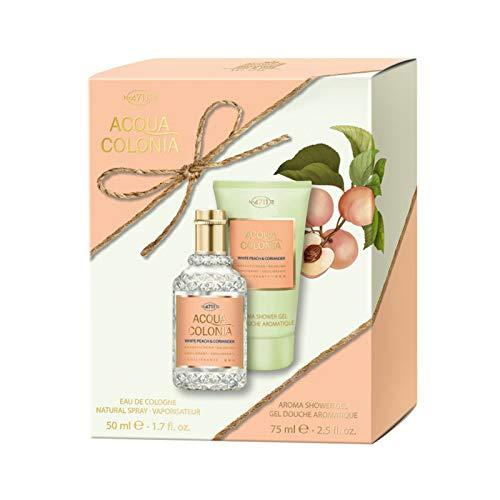 Acqua Colonia 4711 White Peach & Coriander Set - EdC + Shower Gel Edition Limitee