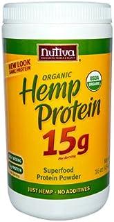 Nutiva Organic Hemp Protein Powder, 16 Ounce - 3 per case.