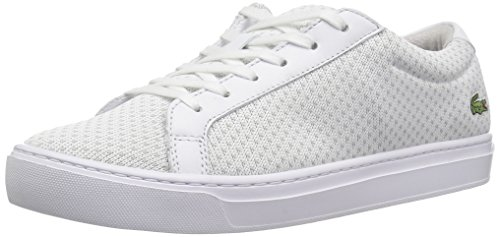 Lacoste L.12.12 LIGHTWEIGHT1181CAW - Zapatillas para Mujer, Wht/Ltgry, 6 M US
